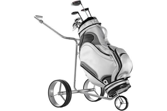 让高尔夫球运动更为轻松的电机