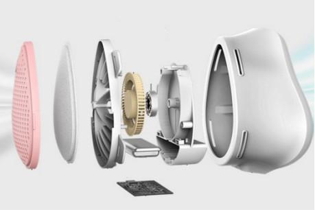 电动送风智能防霾口罩专用风扇乐动pt手机客户端登录