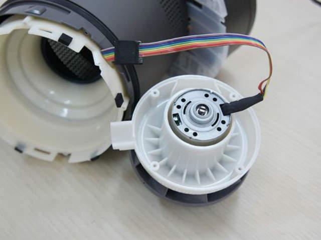 无叶风扇用什么电机?