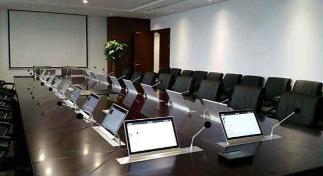 无纸化会议系统液晶升降电机解决方案